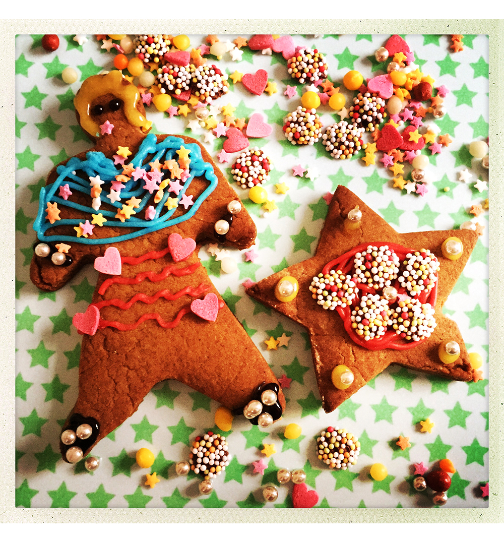 GINGERBREAD DECORATED