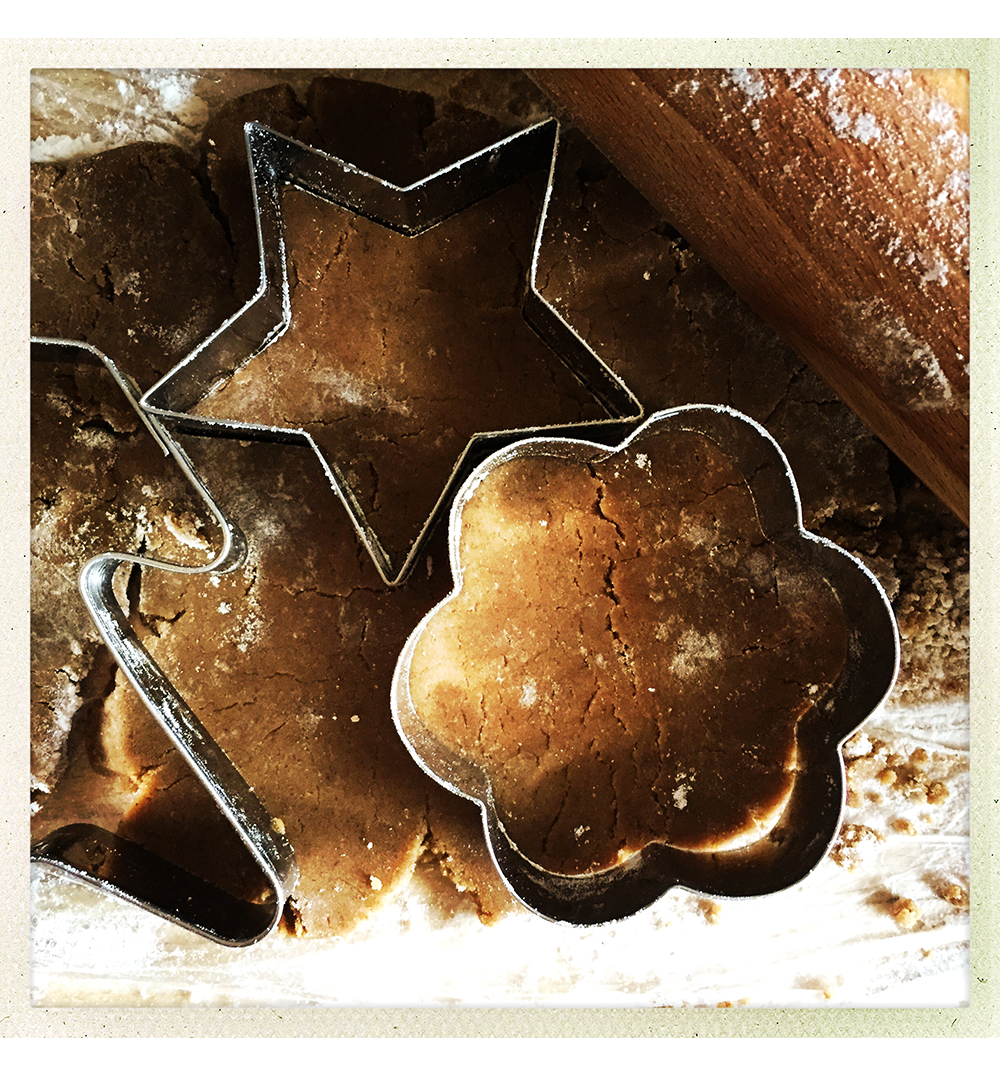 GINGERBREAD DOUGH CUT