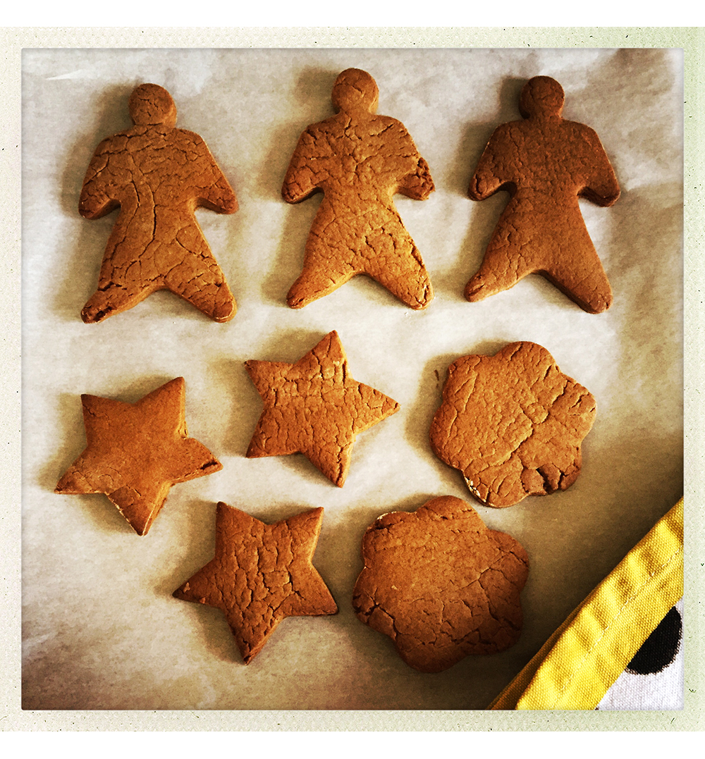 GINGERBREAD OUT OF OVEN
