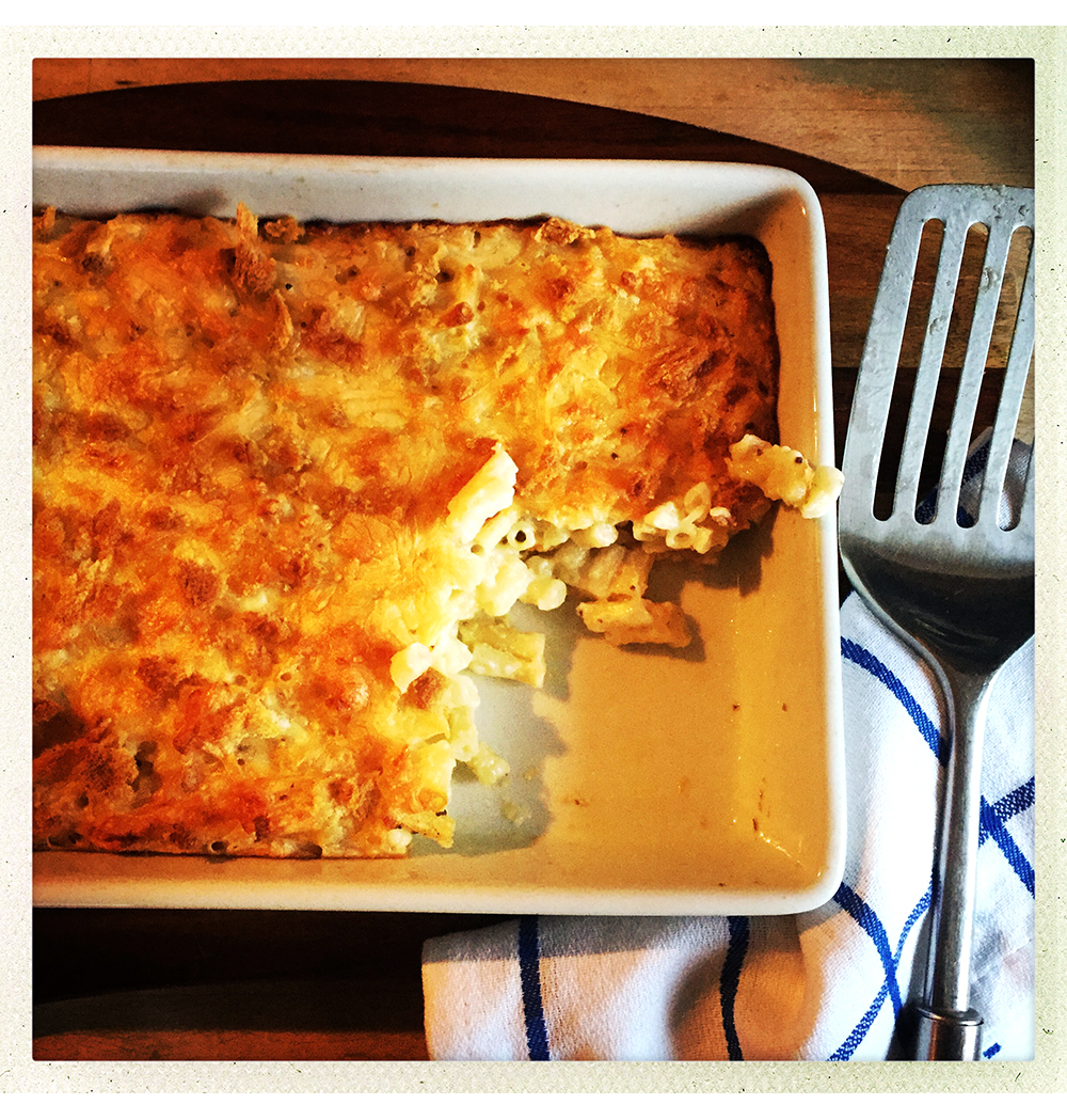MACARONI CHEESE BAKED
